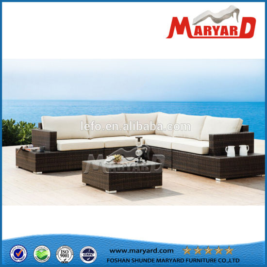 Garden Furniture Rattan Sectional Sofa pictures & photos