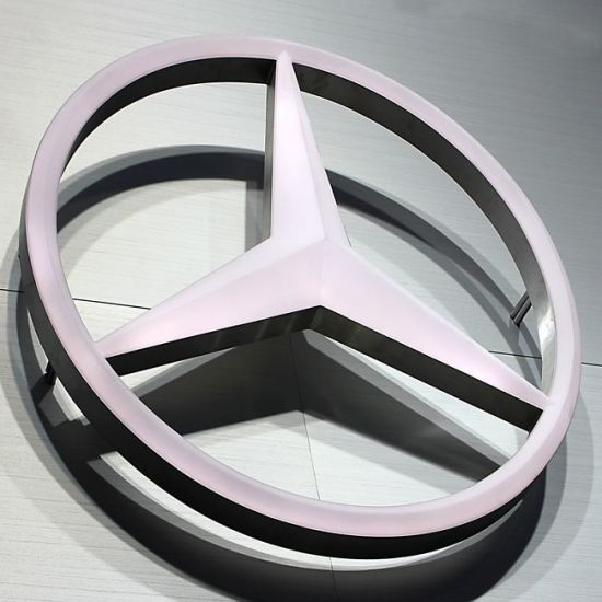china advertisement fixing screws tyre shop advertising car logo