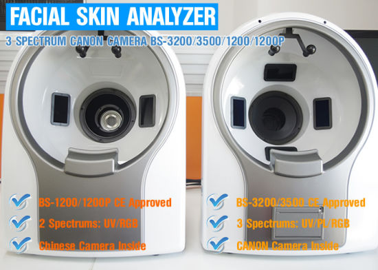 Hot Selling Portable Facial Skin Analysis Machine with Best Price pictures & photos