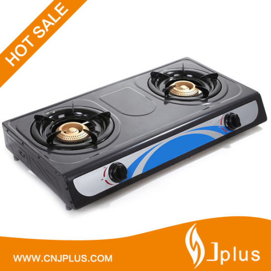 Popular Nonstick Panel Two Burner Gas Cooker in Sri Lanka (JP-GC206T)