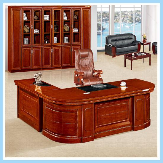 Classic Office Computer Desk Modern Boss Table