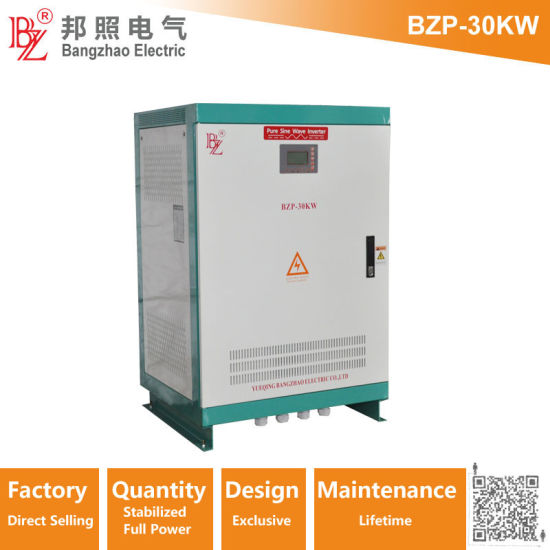 China 3 Phase 30kw Full Power Output 220V/380V off Grid Home