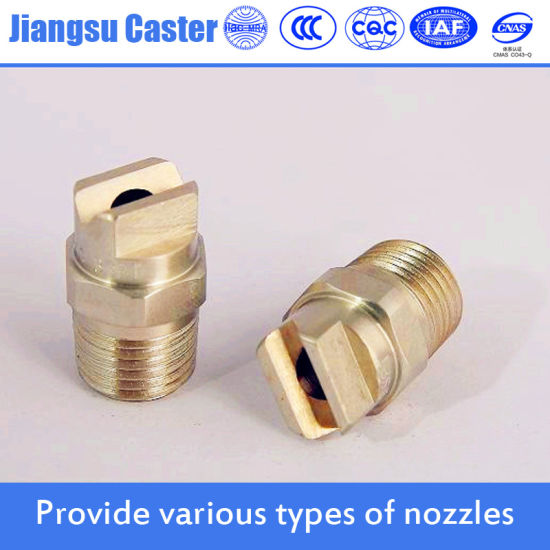 Brass Water Jet Flat Fan Spray Nozzles pictures & photos