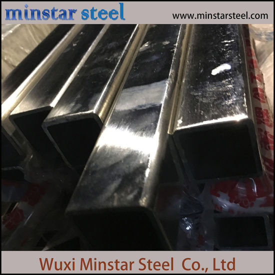 316 Reinforcing Stainless Steel Pipe with Miorr Surface pictures & photos