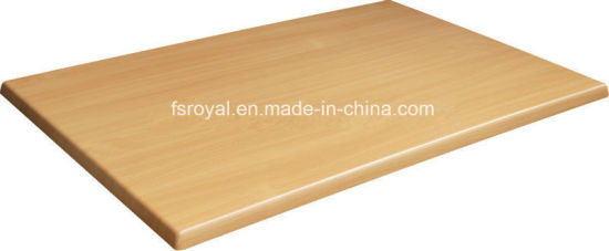 Commercial Outdoor/Indoor Wood Restaurant Table Tops Garden Home Dining Table pictures & photos