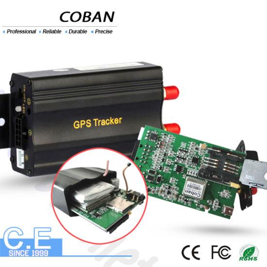 Car GPS Tracker GPS103 Remote Stop Vehicle, GPS/GPRS Car Tracking System  Shock Sensor