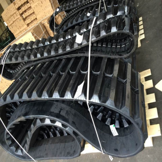 600*125*62 Construction/Agriculture Rubber Track for Hanix Rt 800 pictures & photos