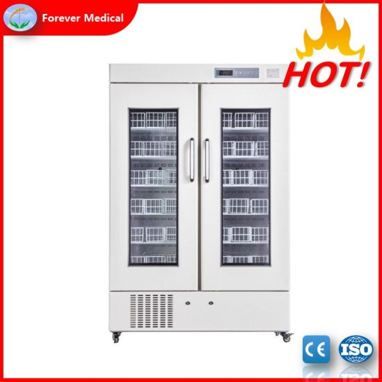 Upright 4 Degree Refrigerator Blood Bank Refrigerator with Ce and ISO (BBR660)