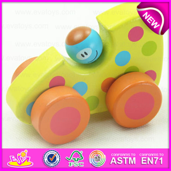 China Latest Baby Best Selling Wood Mini Car Toy High Quality