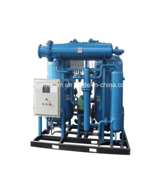 Water Cooled Heatless Regenerative Desiccant CNG Natural Gas Dryer pictures & photos