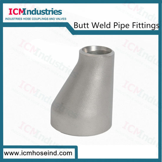 Butt Weld Ss Eccentric Reducer Pipe Fittings