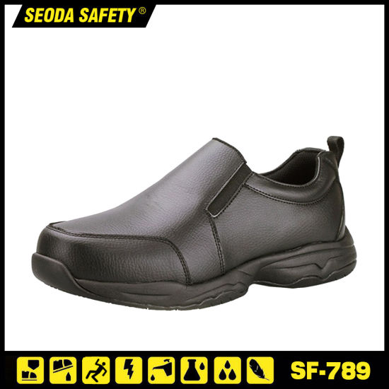 Office Executive Staff Slip on Safety Work Boots with Rubber Sole