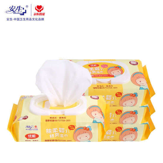 80 Counts Tender Baby Wipe pictures & photos