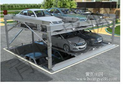 Three Layers Parking Equipment in Pit with Ce