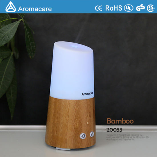 Aromacare Bamboo Mini USB Ultrasonic Humidifier (20055) pictures & photos