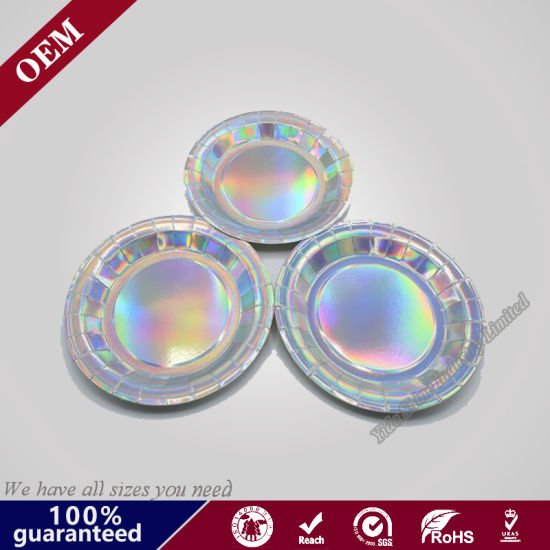 Durable Elegant Custom Printed Disposable Paper Plates  sc 1 st  Qingdao Yide Shine Industry Co. Ltd. & China Durable Elegant Custom Printed Disposable Paper Plates - China ...