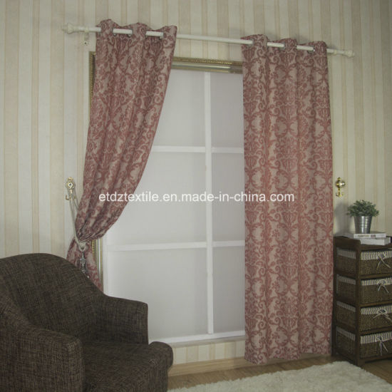 Ttypical Polyester Jacquard High Grade Curtain Fabric pictures & photos