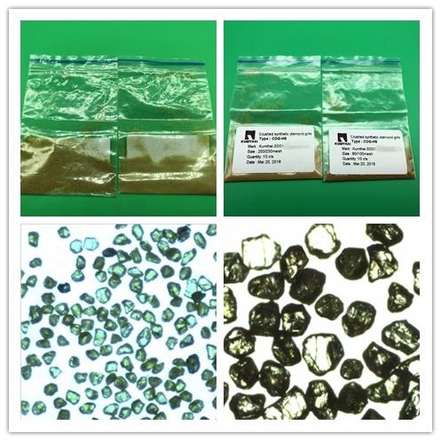 Resin/Vitrified Bond/Electroplating- Crushed Synthetic Diamond Grit Powder