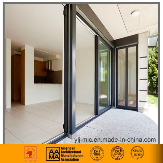Thermal Break/Sound Proof Aluminum Sliding Door (double Glazed)