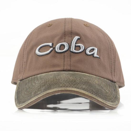 Promotional 3D Embroidery Cotton Cap Hats for Men