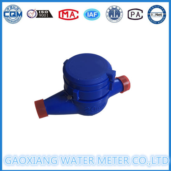 Multi Jet Plastic Domestic Water Meter pictures & photos