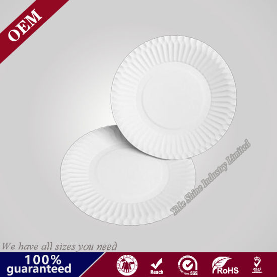 Disposable White Paper Charger Plates Wholesale  sc 1 st  Qingdao Yide Shine Industry Co. Ltd. & China Disposable White Paper Charger Plates Wholesale - China Round ...
