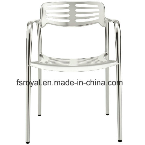 Lightweight Outdoor Party Wedding Chair Aluminium Dining Furniture Ghost Chair
