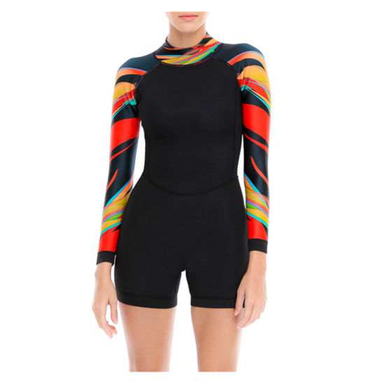Custom Latest Neoprene Suit Dry Diving One- Piece Suit Women's Surfing Wetsuits