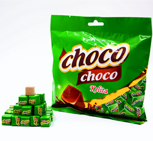 Good Sells to Western Africa Milk Choco Flavor Cube Candy