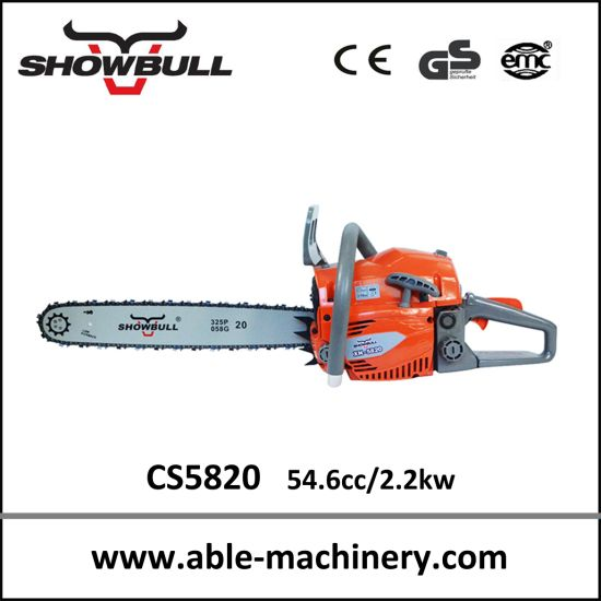Hand saw tree cutting machine