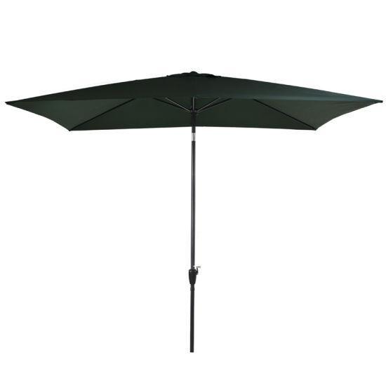 3m Square Aluminium Garden Outdoor Patio Umbrella