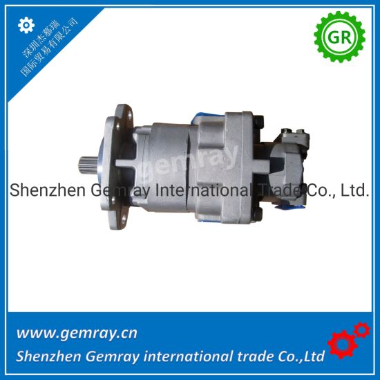 China Komatsu Double Joint Hydraulic Oil Pump 705-52-31130
