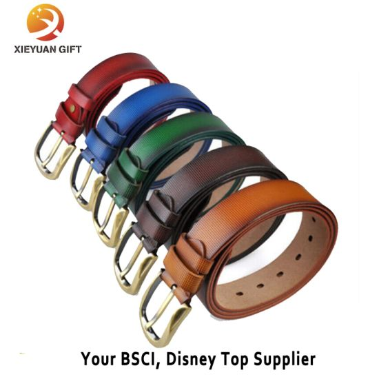 High Quality Custom Real Leather Belt for Men pictures & photos