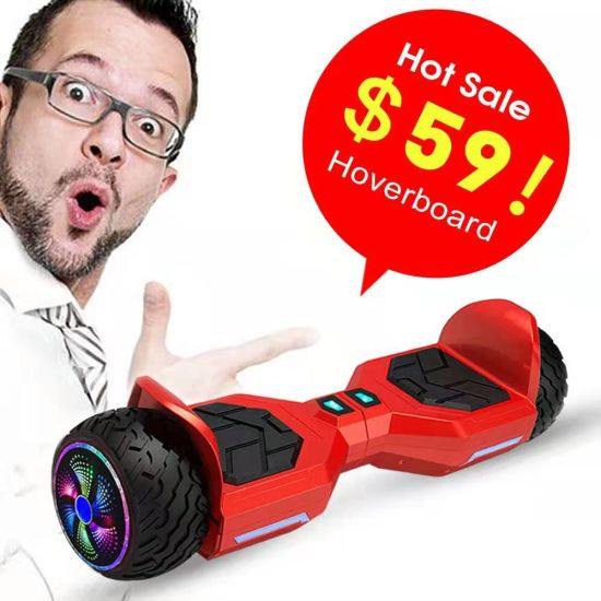 Self-Balancing Scooter 6.5 Inch Hoverboard Bluetooth
