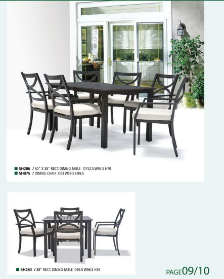 Cast Aluminum Outdoor Furniture Home Furniture Backyard Morden Furniture pictures & photos