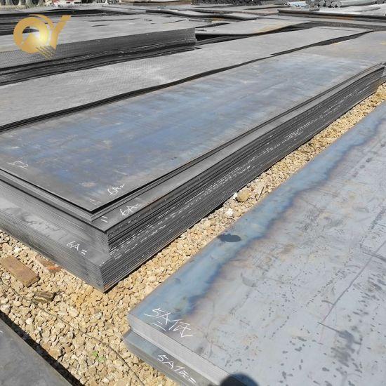 Ss400 S235jr S355jr A53 A36 4X8 Hot Rolled Carbon Ms Mild Steel Sheet Plate