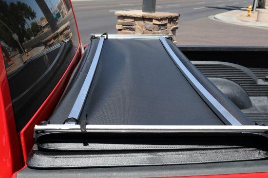 China Soft Tri Fold Tonneau Cover For Toyota Tacoma China Bed