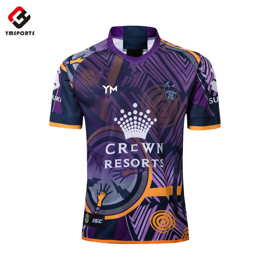 High Quality Customized Rugby Football Jersey