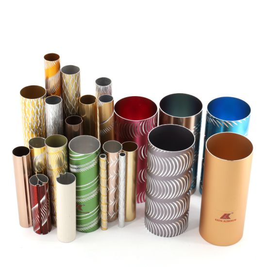 Colourful Anodized Aluminium Tubes or Pipes for Wind Chime