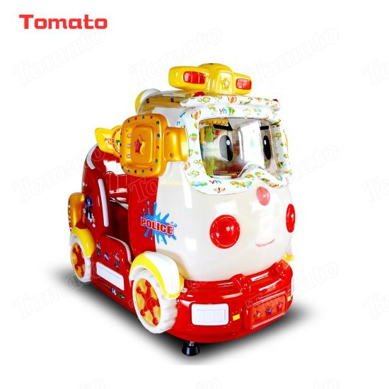 China Hello Kitty Police Car Indoor Outdoor Playground Coin