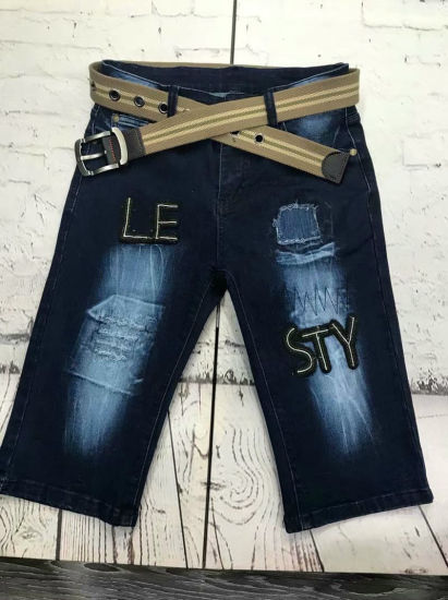 Hot Pant Short Jeans for Men Ripped Jeans pictures & photos