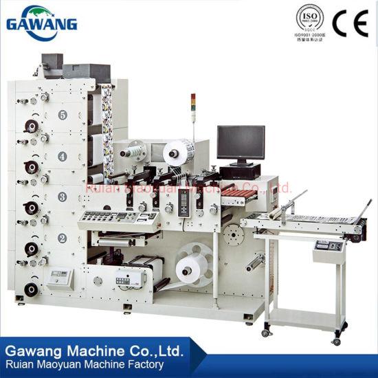 Roll to Roll Digital Label Printing Machine Care Label Printing Machine with Corona for Paper Straw
