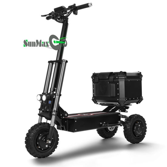 3 Wheels Electric Scooters with Best Damper
