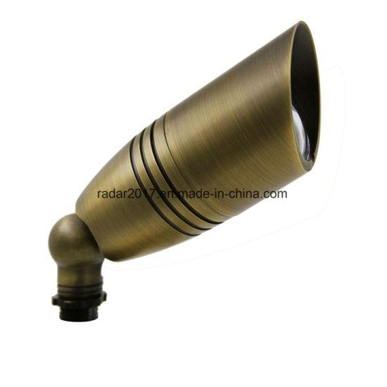 Bronze Brass Accent Light Fixtures for Outdoor Lighitng Bullet Light MR16 ETL UL Approved
