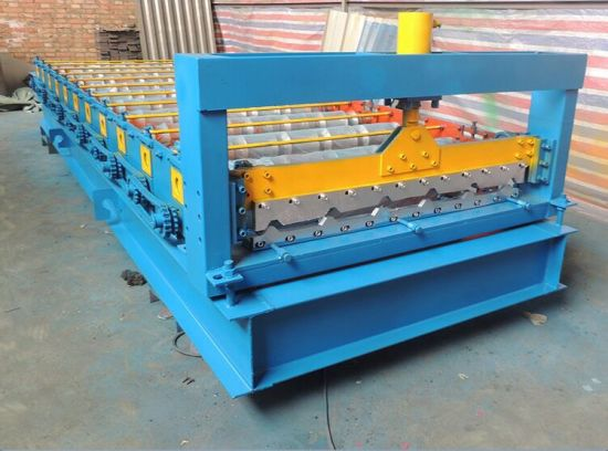 Roll Forming Machine Sheet Metal Roll Forming Machinery with Bending Machine with Hydraulic Bending Machine pictures & photos
