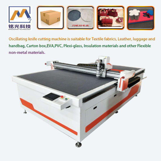 Automatic Fabric Cutting Machine for Leather\Shoes\PVC\EVA\Carbon Box\Garment\Cloth Materials with Ce
