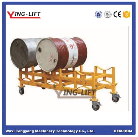 Oil Drum Storage Rack Dolly pictures & photos