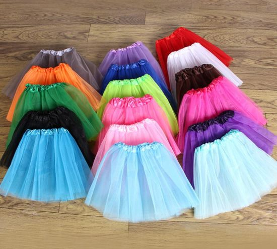 Children Bubble Performing Short Tuu Skirt Dress Factory Wholesale