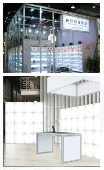 Expo Display Stands : China fashion exhibition glasspanel retainer system expo display