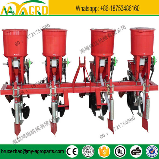 China Tractor Mounted 2 5 Row Corn Planter And Fertilizer Seed